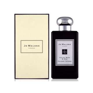 Jo malone 絲絨玫瑰與烏木淡香精 Velvet Rose & Oud 黑瓶 香水分裝5ml