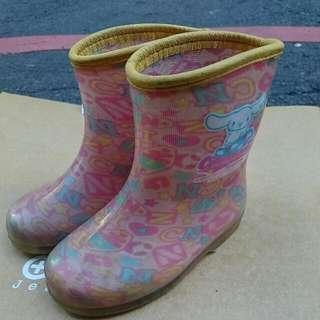 日本製 三麗鷗兒童雨鞋 14公分