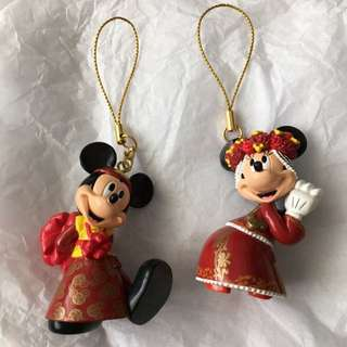 Hongkong Disneyland Mickey Couple
