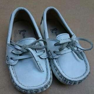 諾貝達真皮鞋14.5公分