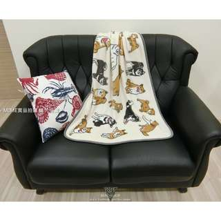 快速出貨》柴犬毛毯法蘭絨冷氣毯萬用毯