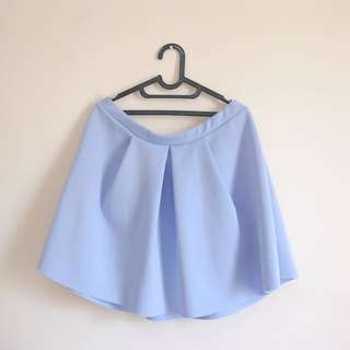 New Look Baby Blue Skirt