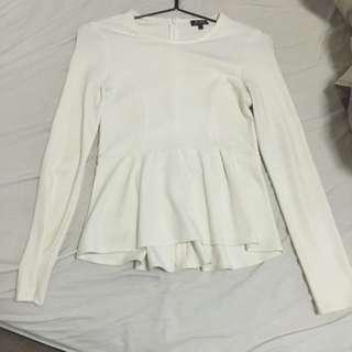 Bardot Long Sleeve Size 8 Top