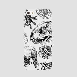 Angstchild White Illustration Phonecase (iPhone 6/6s Plus)