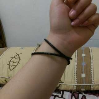 💖潘朵拉💖黑色雙圈皮繩