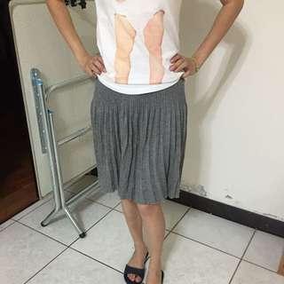 12🈷️針織百摺裙