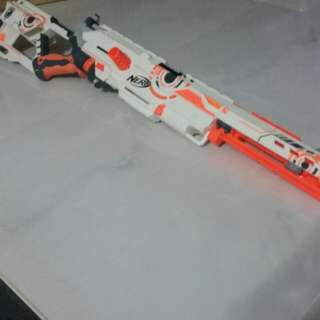 Nerf Longstrike CS-6 Whiteout