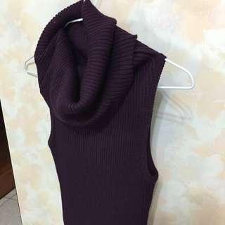 12🈷️立領針織長裙