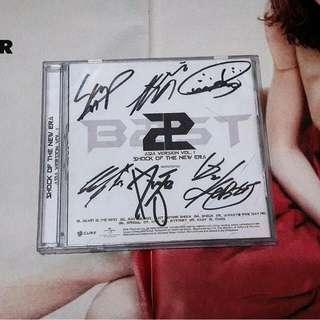 B2ST/Beast - Shock Of The New Era (LEGIT SIGNED ALBUM)