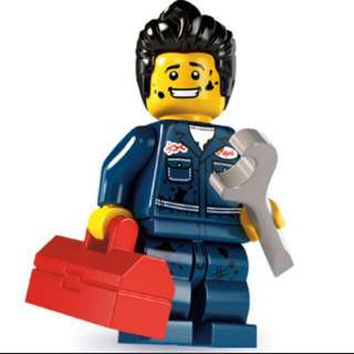 Lego Minifigures Series 6 - Mechanic
