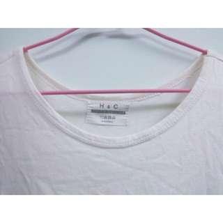 降🔥白色長版衣