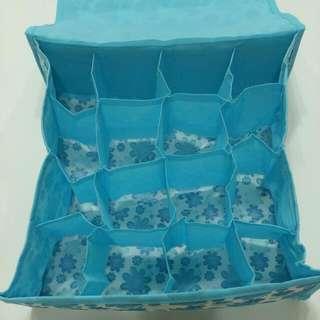 藍色小花收納寶物
