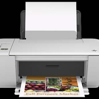 HP2540 deskjet printer