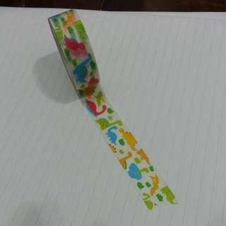 小恐龍 紙膠帶 分裝👍