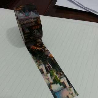 菊水 繁華都市 紙膠帶 分裝💘