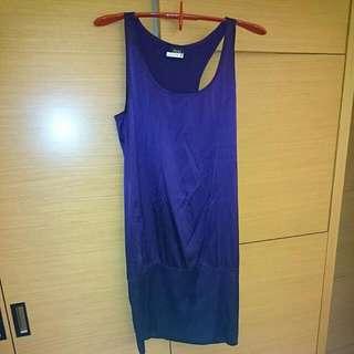 IROO 紫色絲質洋裝