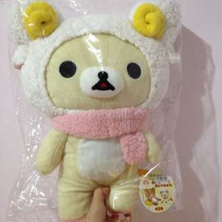 《全新》Rilakkuma 懶懶熊 白 懶妹 🎁聖誕交換禮物 送禮 最佳首選