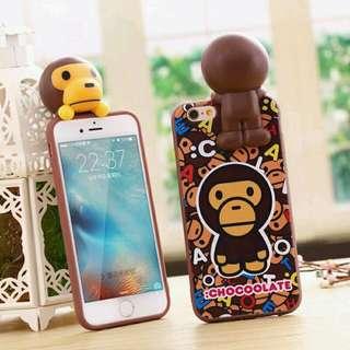 最新款 立體潮猴手機殼!快搶先擁有喔!hsjshC50