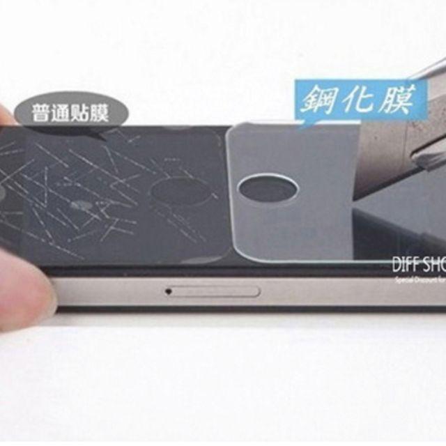 【硬度9H正品】鋼化玻璃保護貼膜iPhone6/6s plus紅米note4s z3 M8 Zenfone5s