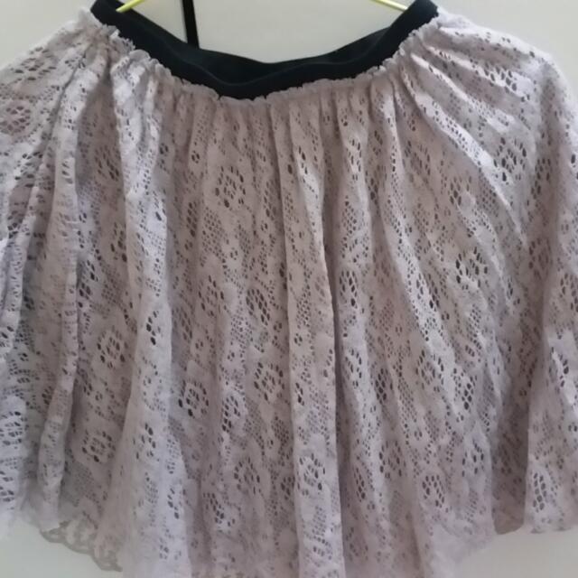 蕾絲風格裙子