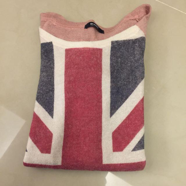 長版英國🇬🇧國旗小洋裝