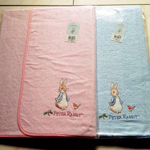彼得兔精繡方包巾