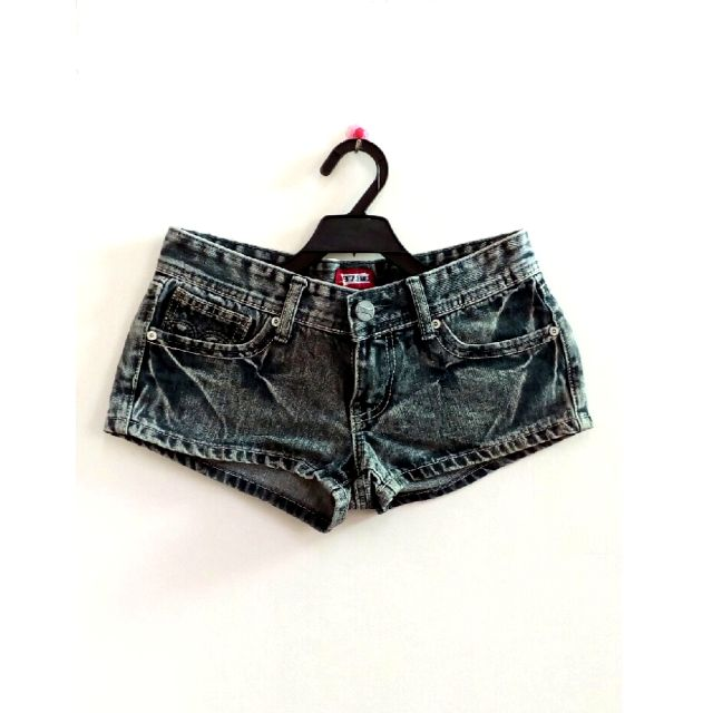 (免運)鐵灰牛仔短褲