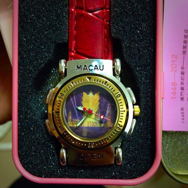 澳門精裝旅遊紀念錶