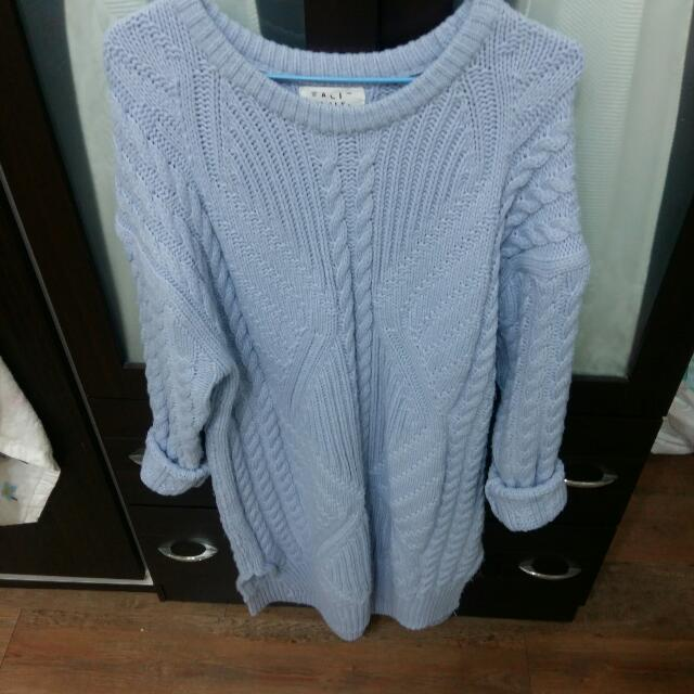 (待匯款)長版毛衣
