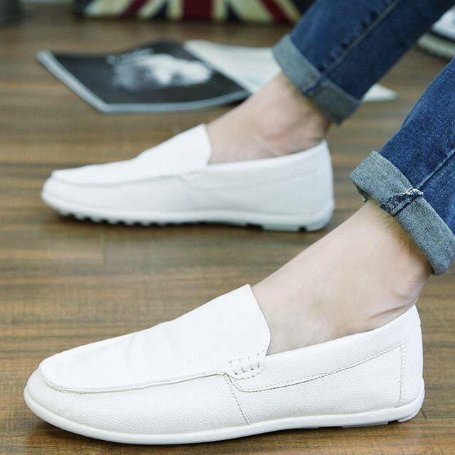白帆船鞋 (布)