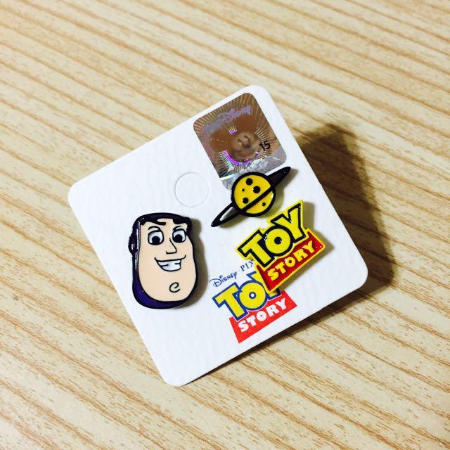 玩具總動員 巴斯光年 耳環