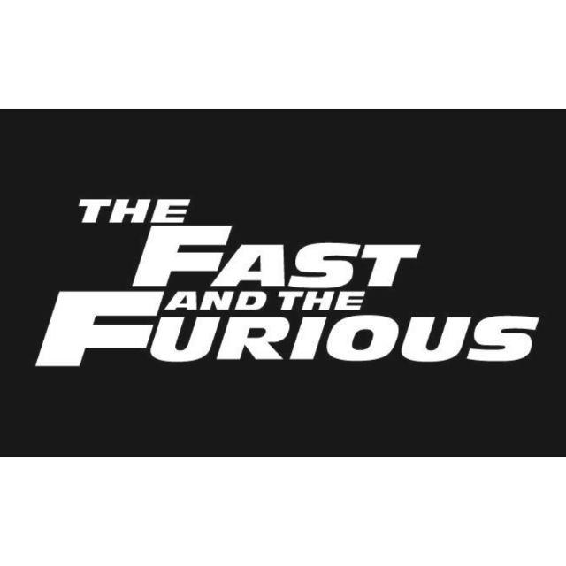 玩命關頭 Fast & Furious 防水簍空貼紙 保羅沃克 PAUL WALKER