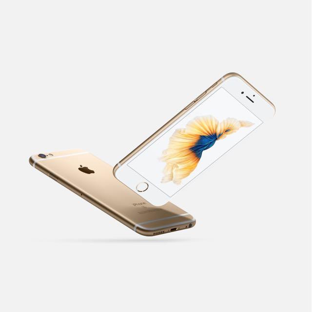 全新未拆封 iPhone 6S 64G 金色