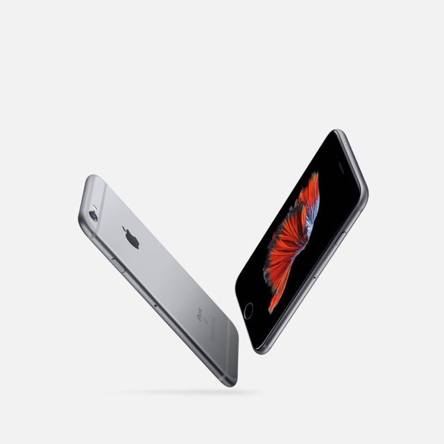 全新未拆封 iPhone 6S 64G 太空灰