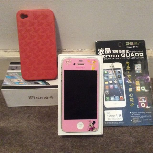 Apple I Phone4 32G (White)