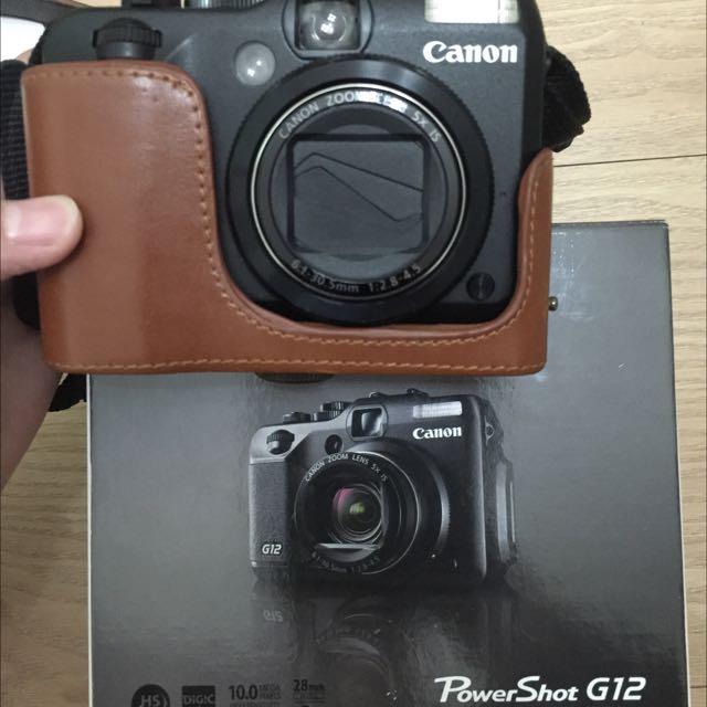 保留中二手Canon G12 (9.5幾近全新配件未拆)