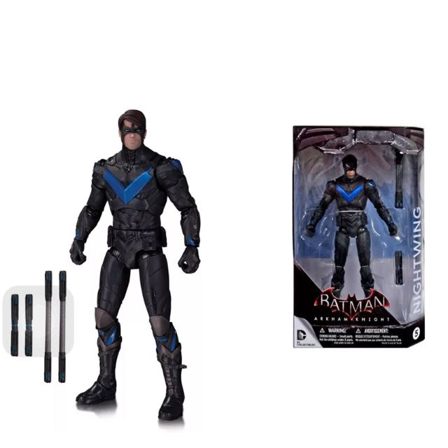 DC COMICS Arkham Knight Batman Nightwing Figure