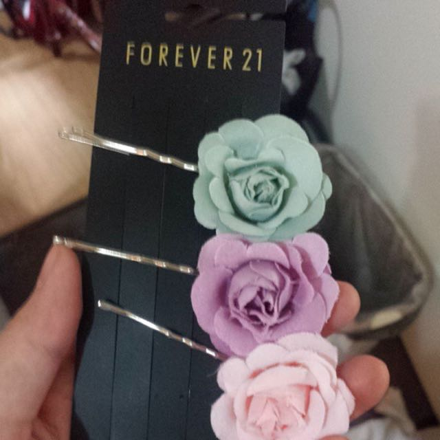forever 21 hair pins