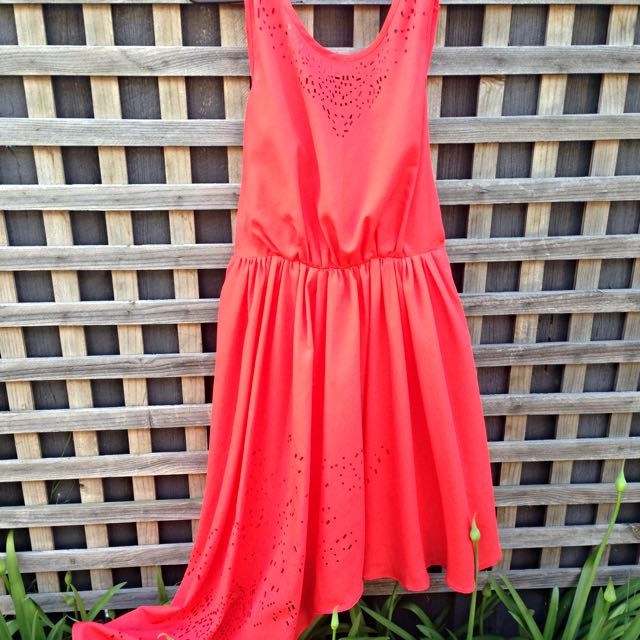 Lumier Dress Orange (size M)