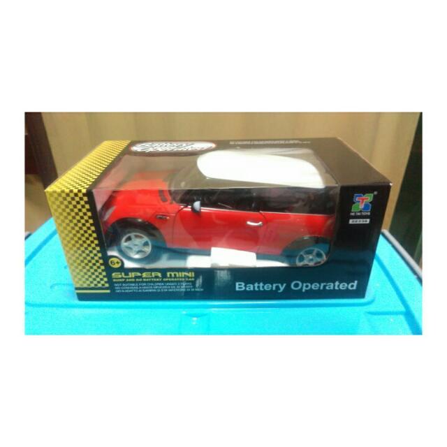Mini Cooper模型電動車
