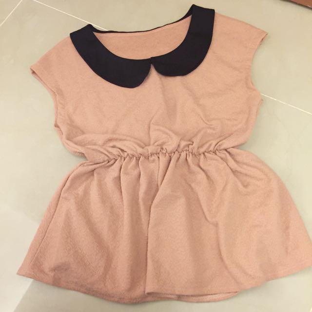 🌸粉藕色OL感上衣🎏
