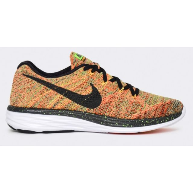 sale retailer 50ed1 dbe52 RARE Nike Flyknit Lunar 3 - Multicolor, Mens Fashion on Carousell