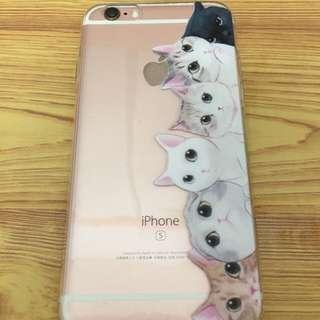Iphone貓咪軟殼