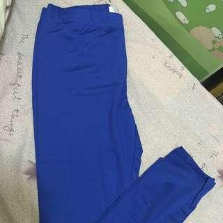 內搭褲 深藍色