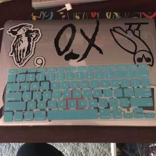Tiffany Blue Mac Keyboard Cover