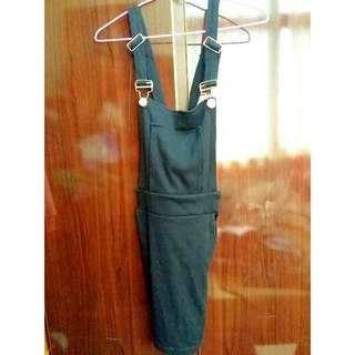 棉質貼身吊帶裙