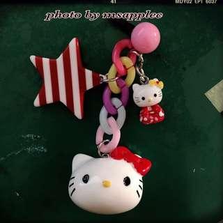 Hello Kitty手機防塵塞