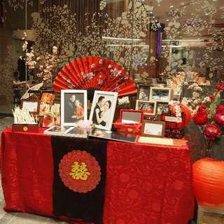 Wedding Decoration Service (Shanghai themed wedding)