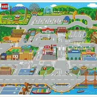 💢現貨💢日本TOMICA繽紛街道圖遊戲墊