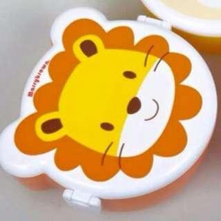 可愛獅子零食(餐)盒